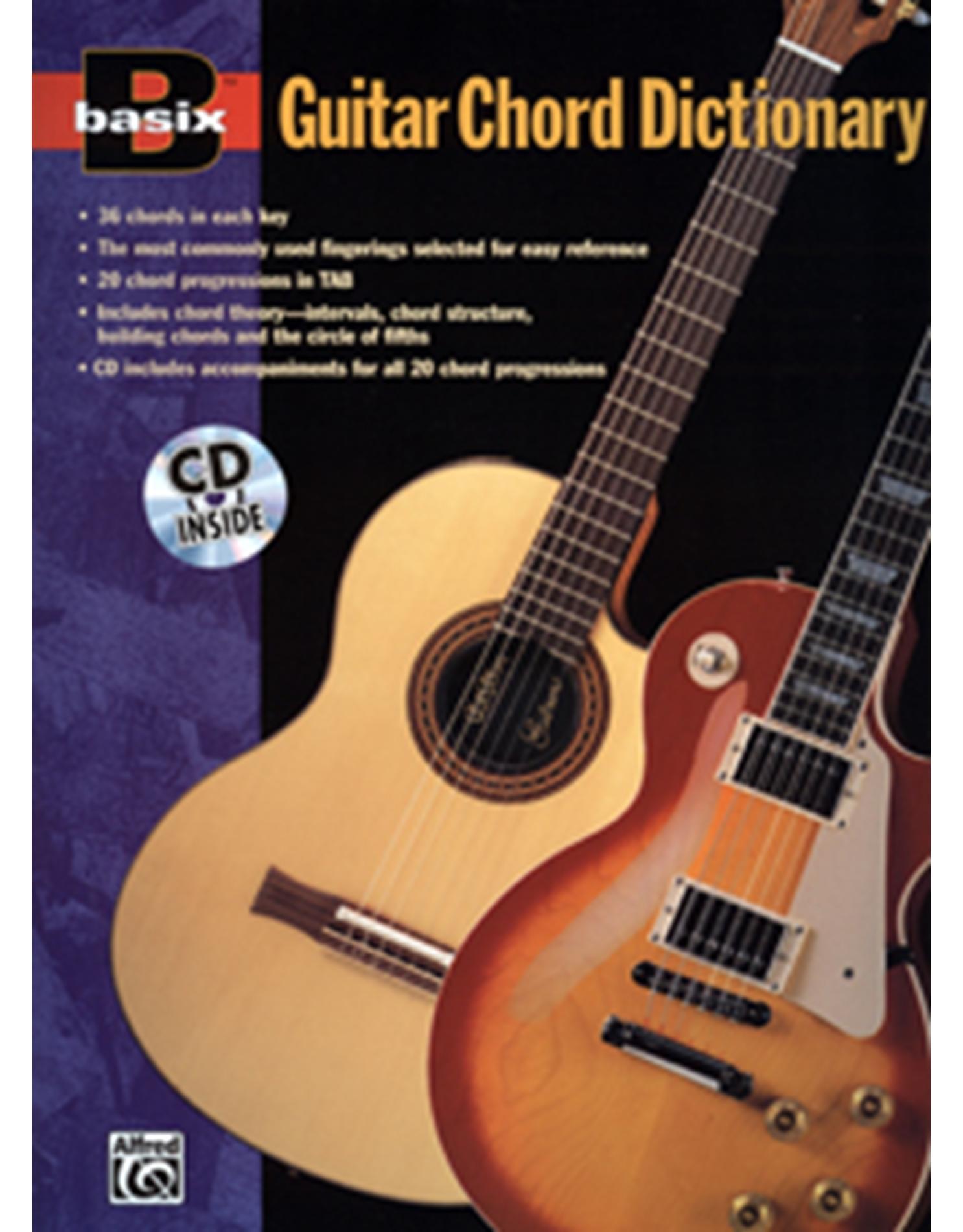 Basix Guitar Chord Dictionary + CD